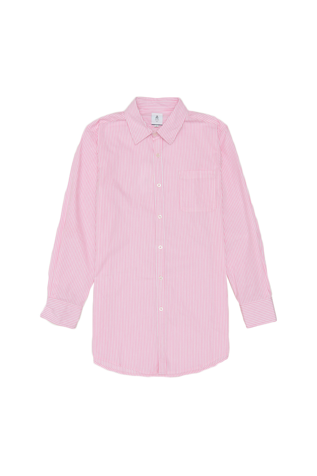 BLAKE SLIM-FIT STRIPED DRESS SHIRT IN PINK