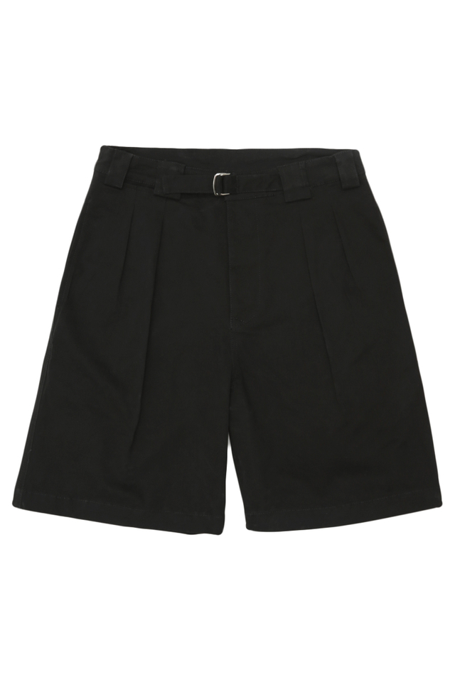 KANE GURKHA SHORTS IN BLACK