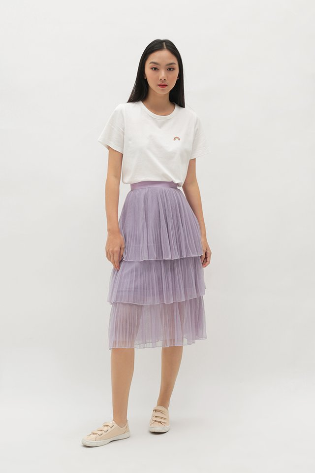 ARABELLE TULLE SKIRT IN LAVENDER