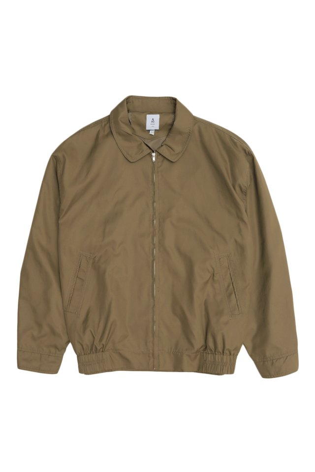 NOAH HARRINGTON JACKET IN COFFEE