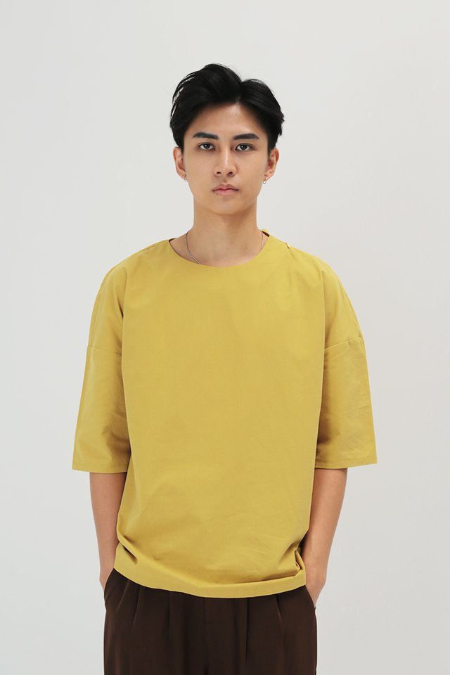 KODA ROUND NECK TOP IN HONEY