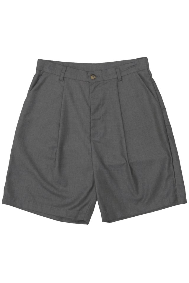 DECLAN DRAPE SHORTS IN GREY