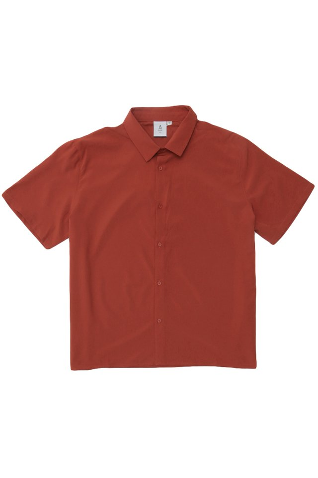 FINN SHORT SLEEVE SHIRT IN AUTUMN
