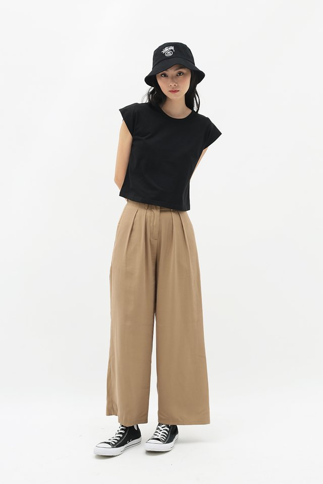 ALY PALAZZO PANTS IN SAND