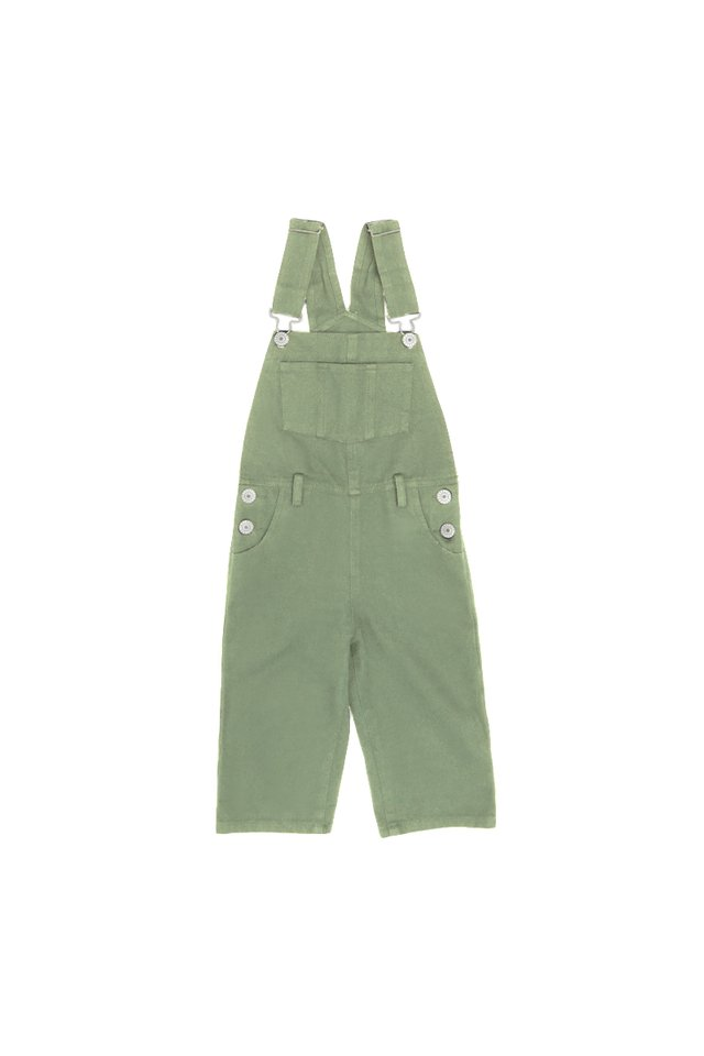 ELROY MINI DUNGAREES IN THISTLE