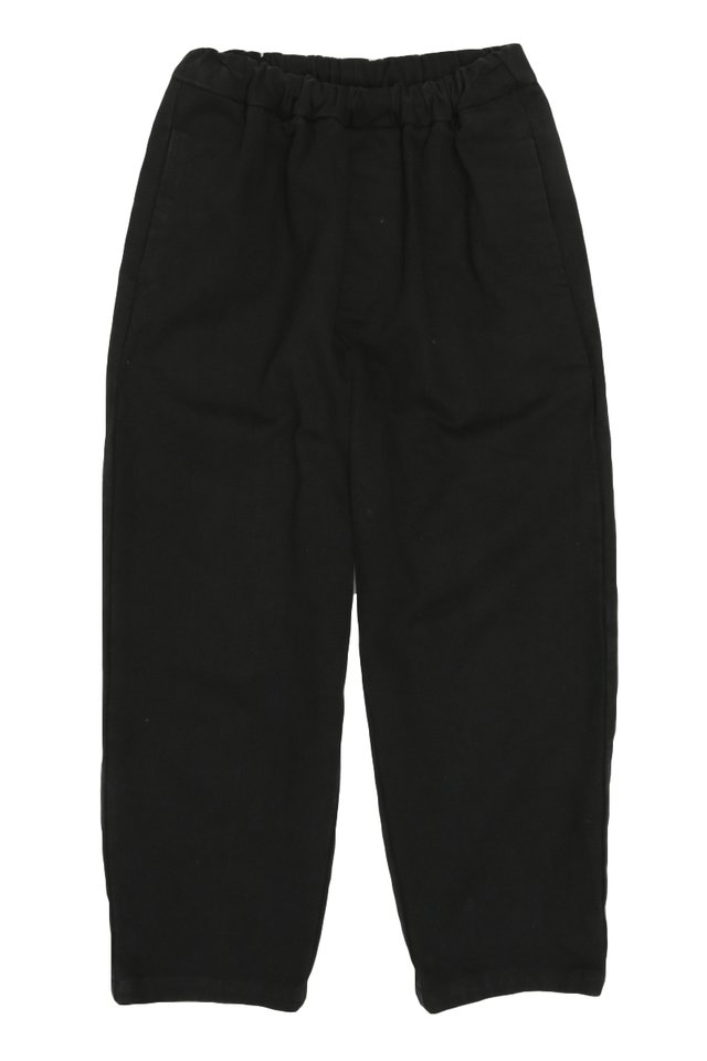 KYOU WIDE-FIT WORK TROUSERS IN BLACK