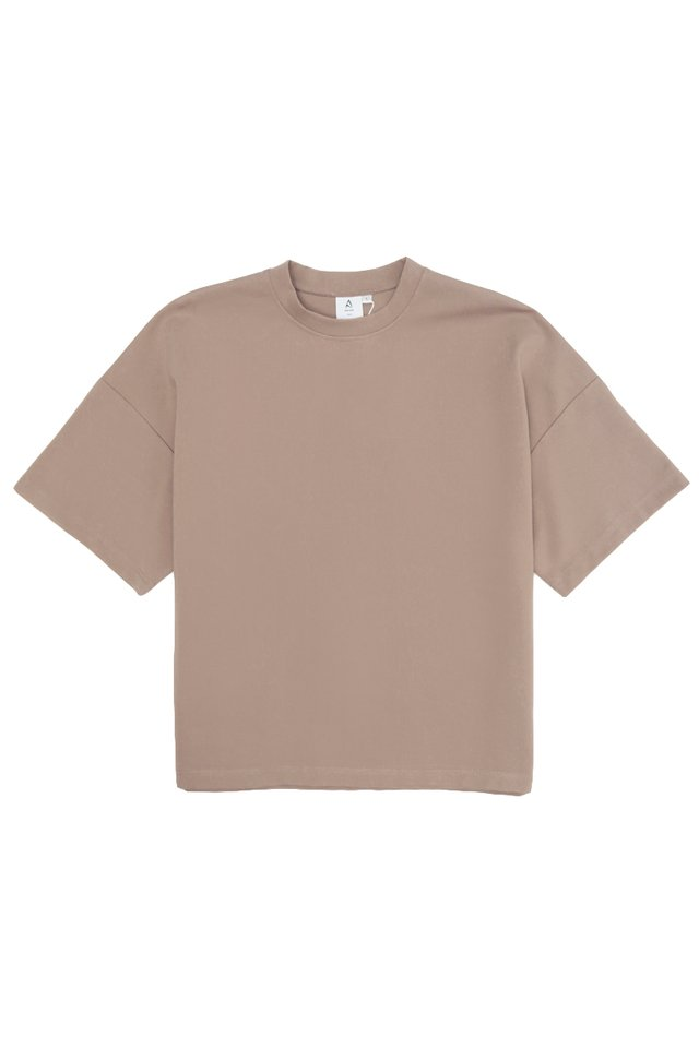 OTTO DROP SHOULDER TOP IN CLAY
