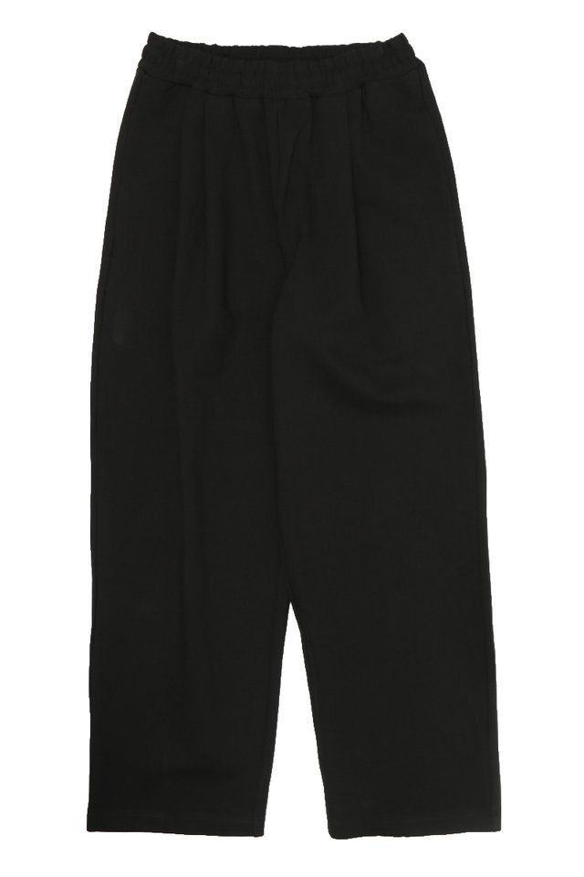 URIAH TRACK TROUSERS IN BLACK
