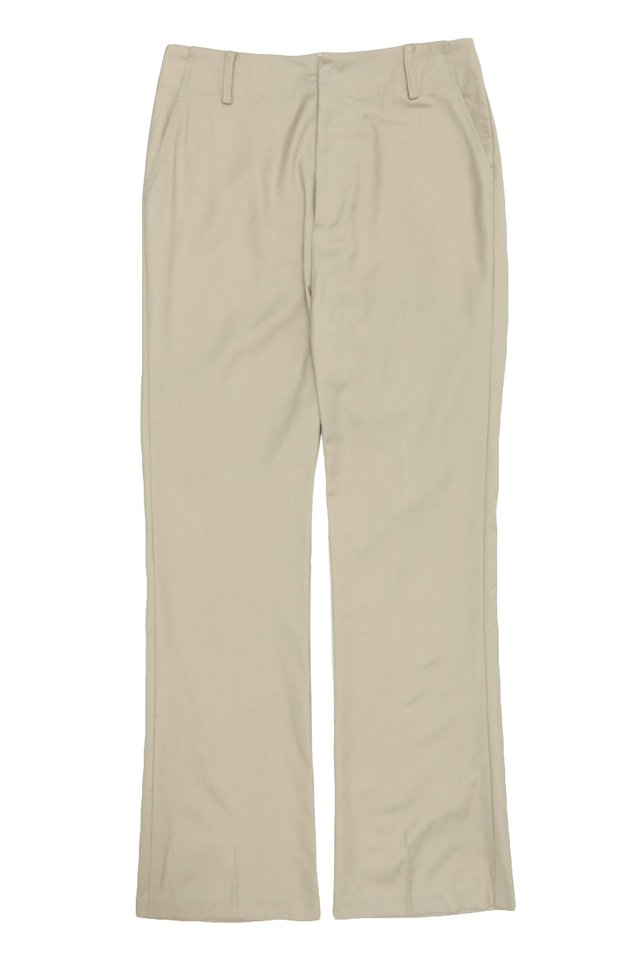 JIMI FLARED TROUSERS IN CREAM